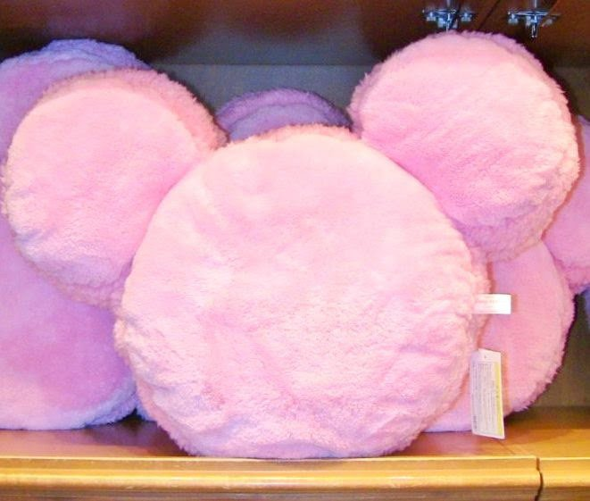 Tokyo Disney Resort limited Mickey Minnie mouse Pink Macaroon Cushion JapanFSNEW