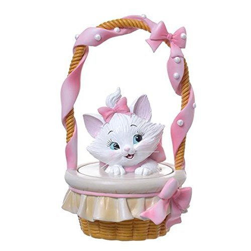 �Kawaii Disney Cat Marie Jewelry Box basket Accessory Case pink NEW F/S�
