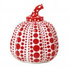 Yayoi Kusama Pumpkin Object White Red Japan Paper Weight Sculpture ornament FS