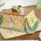 My Neighbor Totoro Kotatsu Futon Cover & Mat set Heater Studio Ghibli Japan F/S