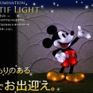 ❦Disney Mickey Mouse 2D LED Illumination Light Garden light Wall Christmas FS❦