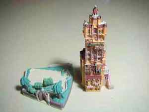 TDS Disney Tower of Terror disney parade Figures Diorama Miniature land Sea FS