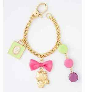 Hello Kitty x Laduree Bag Charm by Mark's key chain from JAPAN NEW FS