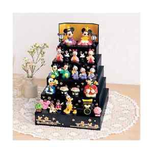 Disney & Friends Japanese Hina Doll Full Set Mickey Minnie Figure Goofy Chip FS