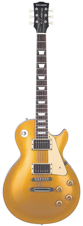 ESP Edwards E-LP-100SD/P Electric guitar GOLD Top DUNCAN Long tenon Japan FS