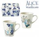 Disney Alice in Wonderland Pair Mug Cup Set Coffee cup OK Microwave,DishwasherFS