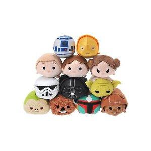 "Disney Store TSUM TSUM (Tsumutsumu) mini S ""Star Wars"" series 12 pieces set F/S"