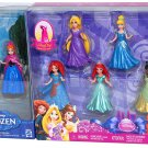 New Disney Princess Magic clip Dolls set Mattel 8 figure Ana Elsa Japan MattelFS