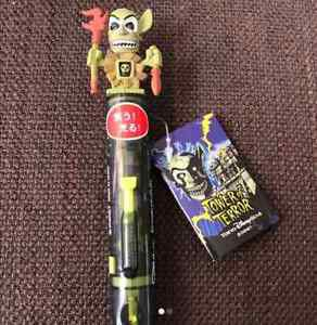 TDS Tower of Terror Shiriki Utundu Doll Ballpoin pen Figure Disneyland NEW FS