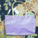 Little Twin Stars × MONO COME CA Tote bag Hand bag Kiki Lara Light purple FS NEW