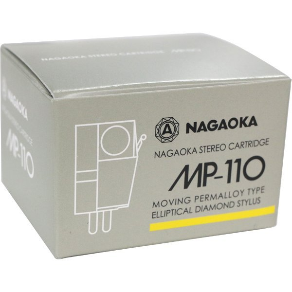 NEW Official NAGAOKA MM Stereo Cartridge MP-110 20Hz- 20KHz Made in Japan F/S