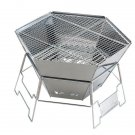 NEW Captain Stag Folding type Grill stove Outdoor Camp portable barbecue BBQ FS