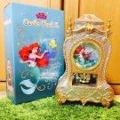 Free shipping! Disney Princess Castle clock L Ariel Little Mermaid NEW Japan
