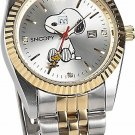 NEW Snoopy Charming eye Watch natural Diamond limited 3000! Silver Combination