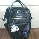PEANUTS Joe Cool Snoopy Anero-style Bag Rucksack Backpack Tote Black Japan FS