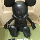 "COACH X DISNEY Mickey Mouse doll Plush Toys Medium 31.8"" Leather Figure Japan FS"