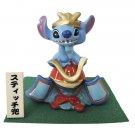 Disney Stitch Hina doll May dolls helmet Warrior Samurai Ornament New F/S Japan