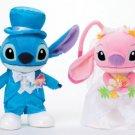 Disney Bridal Stitch & Angel M Wedding figures Pair doll set from JAPAN F/S NEW