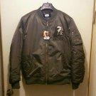 Offer! NEW Darth Vader Embroidery Flight Jacket Sukajan XL LL black Jumper Japan