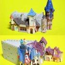 Disney Peter Pan's Flight Snow White Pinocchio Set Diorama Miniature Disneyland