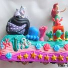 Little Mermaid Ariel float figure Disney Parade Diorama Figures Miniature land