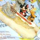 Ron Li Disney store Matterhorn Bobsleds Mickey & Minnie Marble Ornament figure