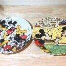 Mickey Mouse Franc franc Dessert plate Cake dish Saucer 2 SET Japan limited FS