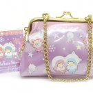 2008 LittleTwinStars kiki Lala lavender Chain Wallet Pouch Bag Case purse NEW FS