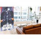 """Star Wars Darth Vader Curtain Noren 59"""" DoorwayTapestry Partition polyester FS"""
