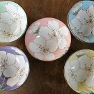 Mino ware SAKURA Cherry blossom 2 colors rice bowl cup Made in JAPAN F/S