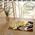 DISNEY Mickey Mini Room Entrance Door Mat Rug Carpet Made in Japan 50 x 80 F/S