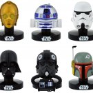 NEW Star Wars Helmet Replica Collection 6 Set Japan Bandai F/S