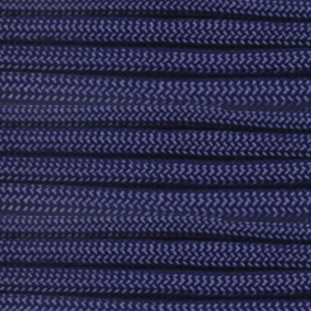 100ft BLUE Paracord Mil Spec 550 lb Type III 7 strand parachute cord commercial grade