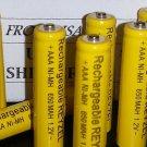 8 pcs AAA Rechargeable NiMH 650mAh Ni-MH Batteries Panasonic cordless HHR-55AAABU HHR-65AAABU TGA93