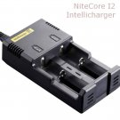 NITECORE i2 Intellicharge universal smart battery Charger (Ver. 2) 18650 AA 18500 14500 18350 16340