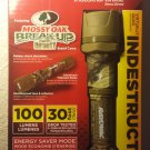 RAYOVAC LED FLASHLIGHT 100 LUMEN INDESTRUCTIBLE MOSSY OAK CAMO DIY2AACAMO-B