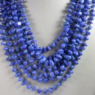 8 Strand Blue Sodalite Necklace