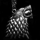 Game of Thrones House Stark Direwolf Pendant Necklace