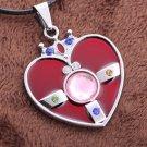 Sailor Moon Heart Pendant Key Chain #2