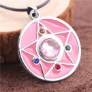 Sailor Moon Pendant Necklace (Silver Chain)