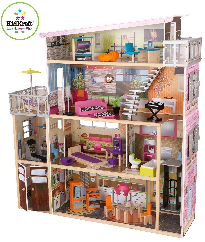 KIDKRAFT SOHO TOWNHOUSE DOLLHOUSE 65277