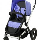 Dream on me Acrobat, Multi Terrain Stroller & Bassinet, Purple - 470PU