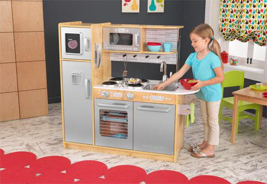 KidKraft 53298 Uptown Natural Kitchen 53298