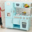 Kidkraft vintage kitchen in blue 53227