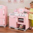 Kidkraft Pink retro kitchen & refrigerator 53160