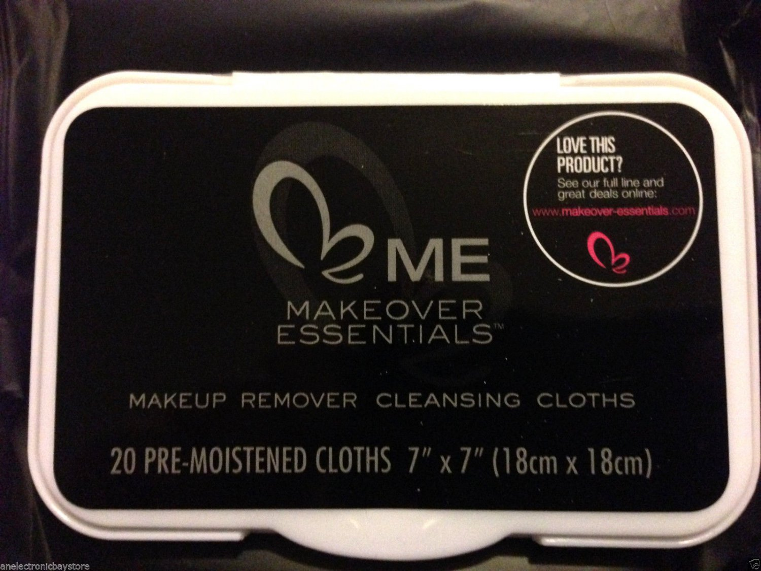 Makeover Essentials Makeup Remover Cleansing Cloths