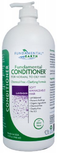Fundamental Earth Conditioner (for Normal to Oily Hair) - Salon Size 32oz