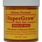 SuperGrow Hair Gel Regular Hold 16 oz