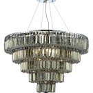 "Chantal 17-Light 30""""D Crystal Chandelier 1731D30C-GT-SS"