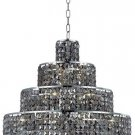 "Chantal 18-Light 26""""D Crystal Chandelier 1734D26C-SS-SS"